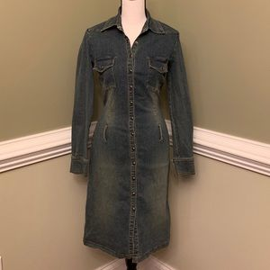 Hot Kiss Denim Dress